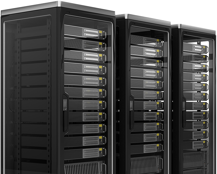 Rackmount Servers in Cabinets